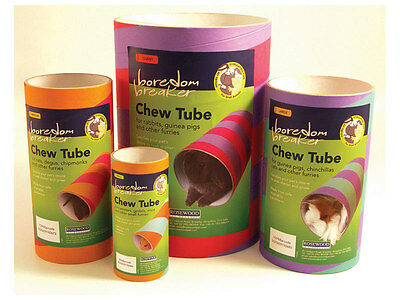 Rosewood Boredom Breaker Chew Tube Small Animal Card Gnaw Tunnel Shelter