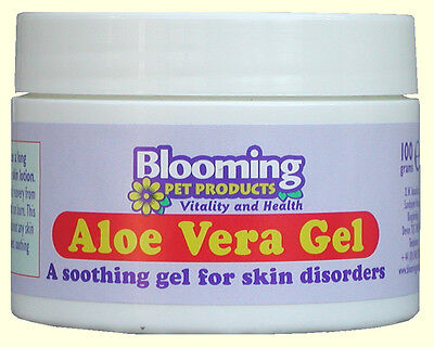 Blooming Pets Aloe Vera Gel for Skin Irritations in Dogs and Cats