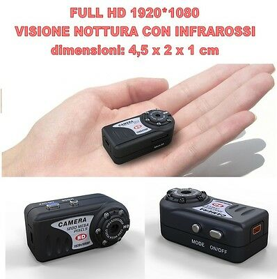 Mini Dv Md80 Full Hd 1920 1080 Night Vision Micro Room Hidden Spy 12 Mpixel
