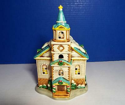 Lefton Colonial Village #05820 - Church Of The Golden Rule - 1986 -New Old Stock