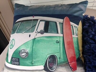 Volkswagen Kombi Van Cushion cover -Must Have if you cant have the real thing