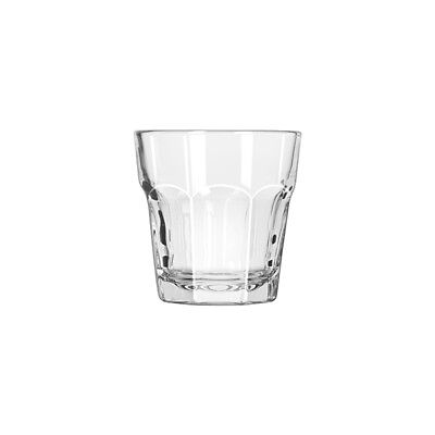 12x Rocks Glass 207mL Libbey Gibraltar Whiskey Cocktail Mixed Drink Bar NEW