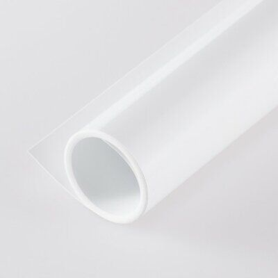 60*130cm PVC Pure White Matte + Glossy Background Plate Photography Backdrop