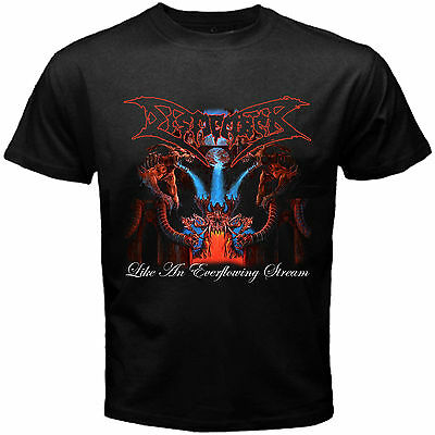 New DISMEMBER LIKE AN EVERFLOWING STREAM Death Metal Rock Band Black T shirt