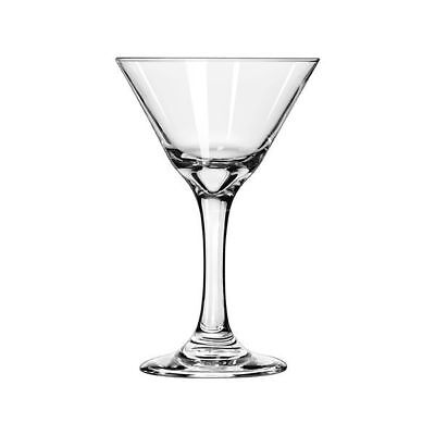 12x Martini Glass 222mL Libbey Embassy Restaurant Bar Cocktail Mixed Drink NEW
