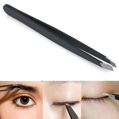 Useful Professional Eyebrow Tweezers Hair Beauty Slanted Tweezer Stainless Steel