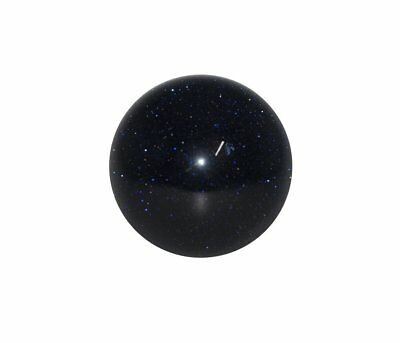 Blue Goldstone Crystal Sphere Cut and Polished Mineral - 40mm Diameter