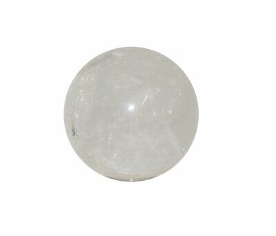 Clear Quartz Crystal Sphere Cut and Polished Mineral - 40mm Diameter