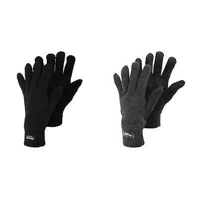 Mens Heatguard Thinsulate Thermal Knitted Winter Gloves
