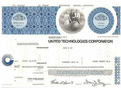 United Technologies Corporation  1978