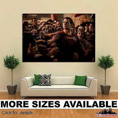 Wall Art Canvas Picture Print - Superman 3.2