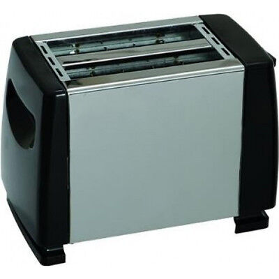 Quest Low Wattage Stainless Steel Toaster