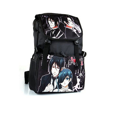 Anime Black Butler Style Backpack Shoulder Bag School Bag Cosplay Prop Accessory
