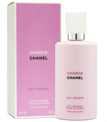CHANEL CHANCE EAU TENDRE Body Moisture 200ml 6.8 OZ New and Sealed, Authentic