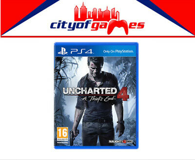 Uncharted 4 A Thiefs End PS4 New & Sealed Free Express Post In Stock