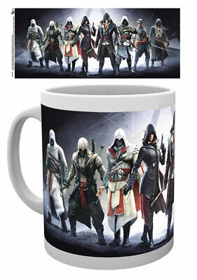 Assassins Creed - Ceramic Coffee Mug / Cup (The Assassins / Characters)