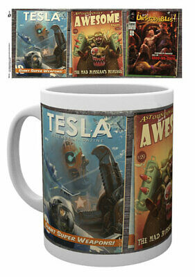 Fallout 4 - Ceramic Coffee Mug /cup (Comic Covers)