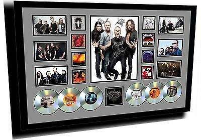 New Metallica Signed Limited Edition Framed Memorabilia