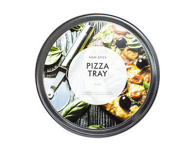 Non-stick Pizza Tray 12 Inch Carbon Steel Baking Round Oven Vented Tray