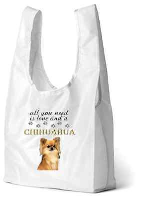 Chihuahua Dog Printed Design Eco-Friendly Foldable Shopping Bag BCHI-2