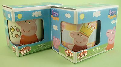 PEPPA PIG coppia tazze ovetti Walcor chocolate eggs (expired) 2 mug set