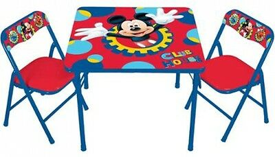 New Mickey Mouse Clubhouse Capers Activity Table Furniture Set Washable Portable