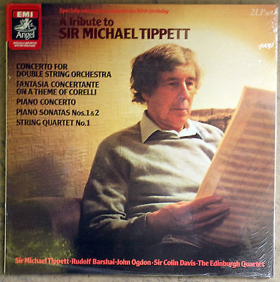 A Tribute to SIR MICHAEL TIPPET – EMI 2-LPs SEALED