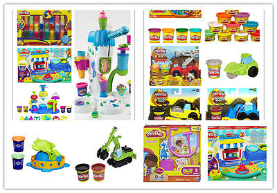 Brand New Play-Doh Collection inc Bakery Ice cream Turtle Doctor Vehicles Set