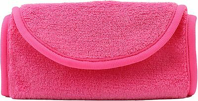 2 x Pink Reusable Soft Microfiber Towel Makeup Eraser Makeup Remover Cloth