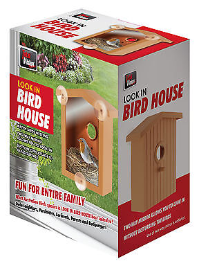 2 X Window Mount Nest View Wild Bird House Research See Baby Birds nature