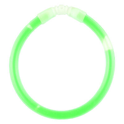 "Illumiglow 7.5"" Lightstick Fun Wrist Survival Light Party Safe Army Stick Green"
