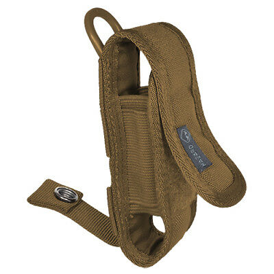 Hazard 4 Mil-Koala Molle Multi Sheath Torch Radio Pocket Patrol Military Coyote