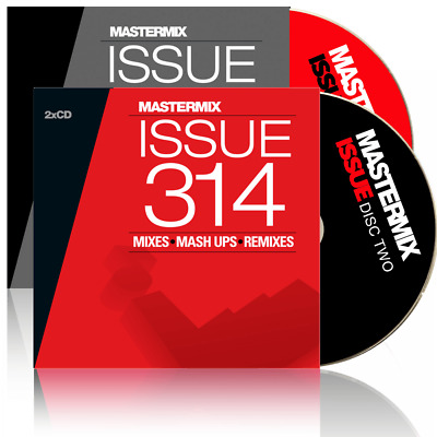 Mastermix Issue 292 Twin DJ CD Set Mixes ft Best 80s Club Anthems Ever Megamix