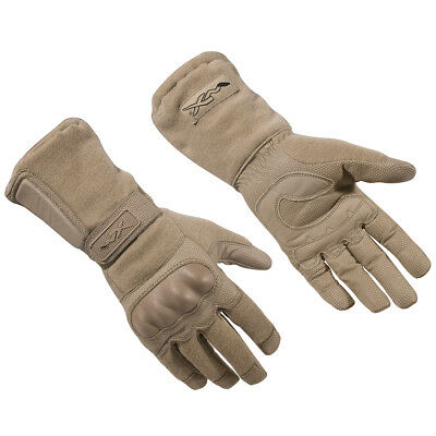 Wiley X Tag-1 Gloves Combat Patrol Tactical Shooting Airsoft Hand Cover Coyote