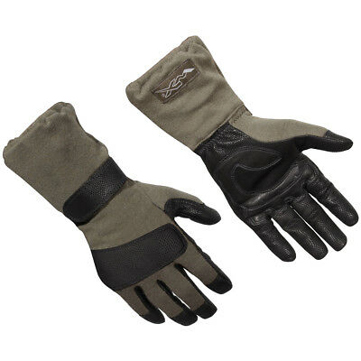 Wiley X Raptor Gloves Mens Work Extended Flame Resistant Gun Cut Foliage Green