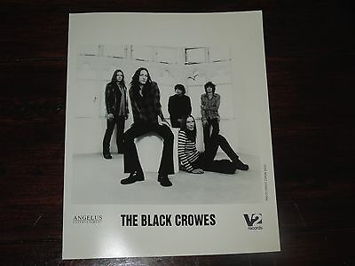 """2000 The Black Crowes Sign With V2 Records Original  Promo Photo Pre-""""Lions"""""""