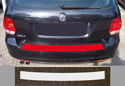 paint protective film boot sill protection transparent for VW Golf Variant 6