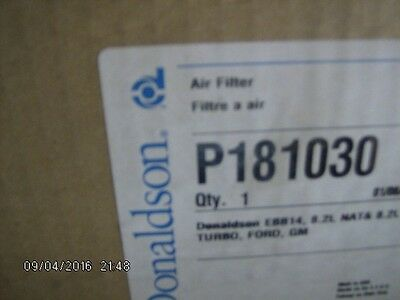 Donaldson air filter P181030