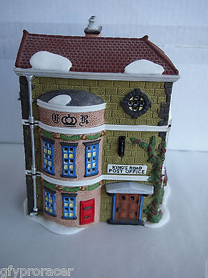 "Dept 56 Dickens' Village ""king's Road Post Office"" #58017"