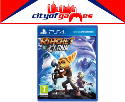 Ratchet and Clank PS4 New & Sealed Free Express Post In Stock
