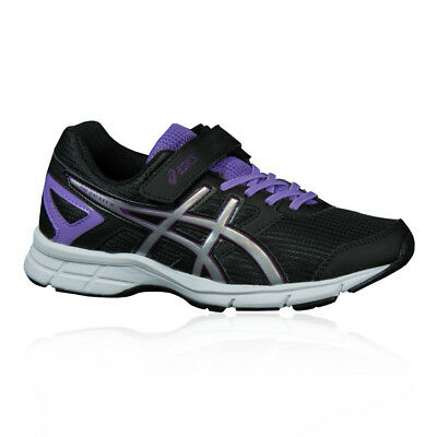 ASICS Pre Galaxy 8 PS Junior Black Cushioned Running Sports Shoes Trainers