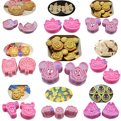 Lovely Cartoon Fondant Cake Cookie Plunger Cutter Sugar Craft Decorating Tools