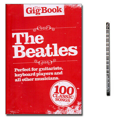 The Gig Book the Beatles - Songbook, MusikBleistift - NO91267 - 9781849380706