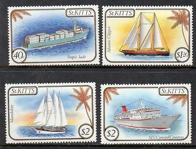 St Kitts MNH 1985 Ships