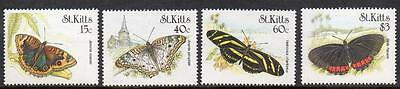 St Kitts MNH 1990 Butterflies