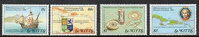 St Kitts MNH 1989 The 500th Anniversary of Discovery of America by Columbus