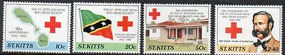 St Kitts MNH 1992 The 50th Anniversary of St. Kitts-Nevis Red Cross Society