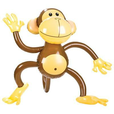 27 Inch Inflatable Cheeky Monkey Jungle / Zoo Animal Blow Up Novelty Toy