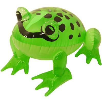 """24"""" Giant Inflatable Blow Up Green Frog Animal Fun Toy - Cool Kids Party Gift"""