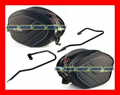 Side Panniers Soft Ea100 Yamaha Mt09 Tracer From 2015 + Frame Te2122